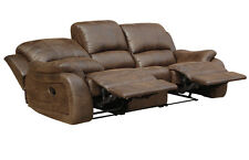 Mikrofaser Relaxsofa Schlaf-Couch Relaxsessel Fernsehsofa 5129-3-VF03 sofort