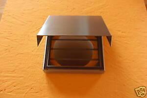 Abluftklappe dunstabzug edelstahl außenjalousie abluft küche