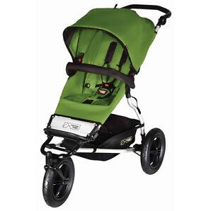 Mountain Buggy Urban Jungle Jade Jogger Single Seat Stroller