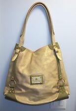 Huge Rock & Republic Gold Leather & Stingray Ltd Ed 2/4 Handbag Carry On Tote