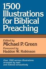 1,500 Illustrations for Biblical Preaching (2000, Paperback)