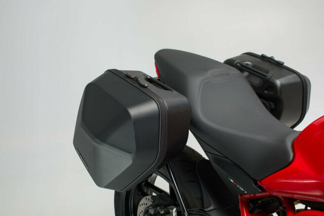 SW-Motech URBAN ABS Side Cases Panniers Set Ducati Supersport