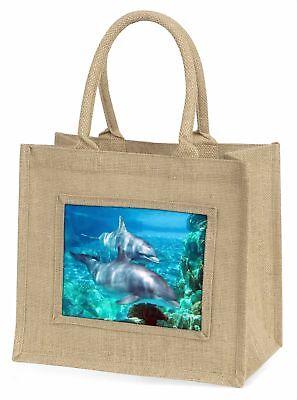 Delphine Große natürliche jute-einkaufstasche Weihnachten Geschenkidee, af-d3bln