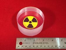 "Bicron BC-408 Plastic Scintillator 3"" diameter by 1.5"" length (75mm X 38mm)"