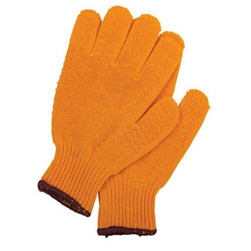 New Berkley Universal Fish Gloves Yellow Honeycombed PVC Material Fishing