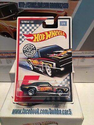 5//10 Long Card No 2017 Hot Wheels Racing Circuit /'69 Pontiac GTO