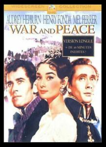 Guerre et Paix [Version Longue] Audrey Hepburn  - DVD - NEUF - Version Fr