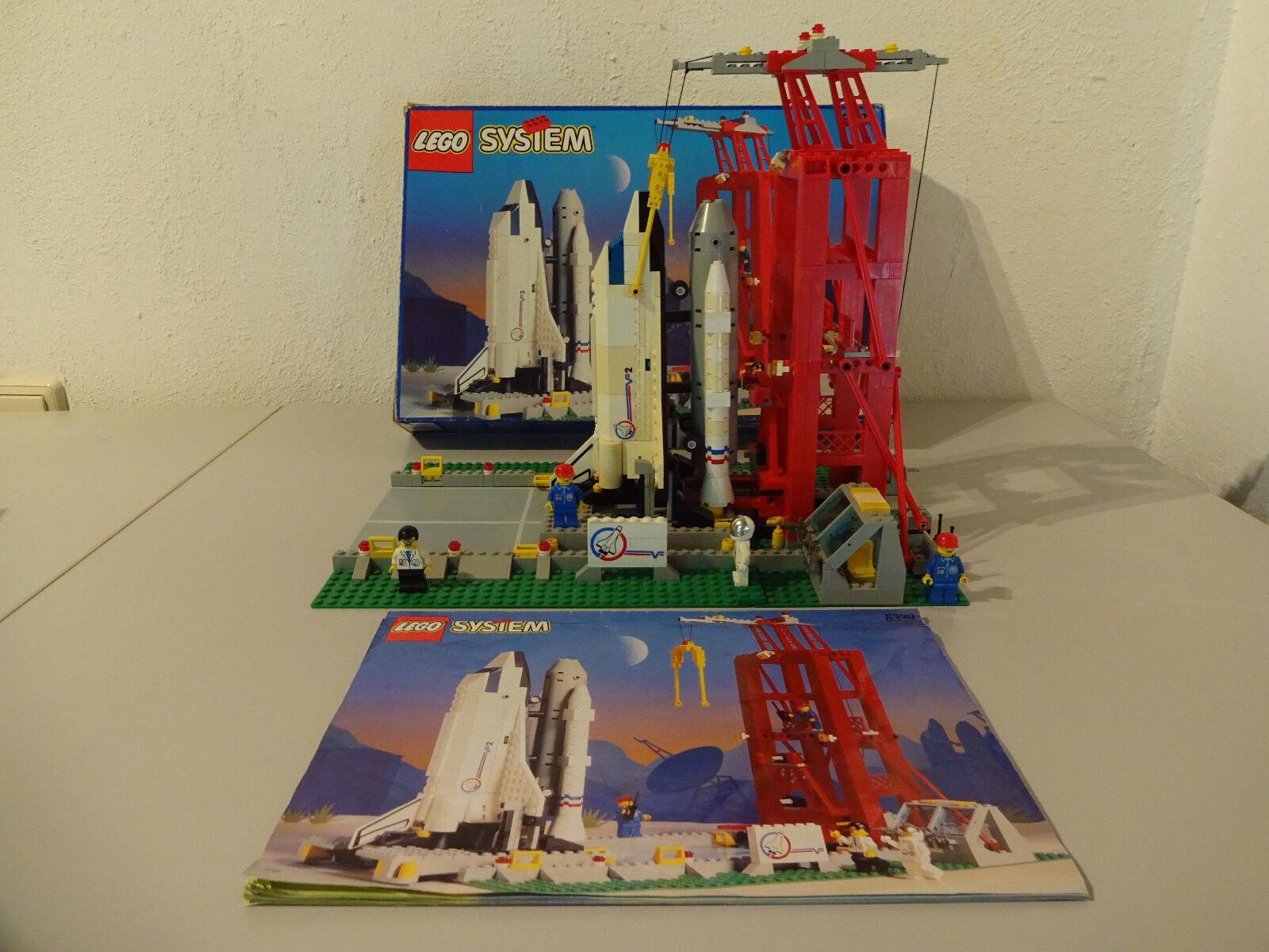 ( Fonce) Lego Système 6339 Weltraumbahnhof avec Emballage D'Origine & Ba 100%