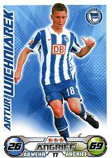 17 Artur Wichniarek - Hertha BSC Berlin - TOPPS Match Attax 2009/2010