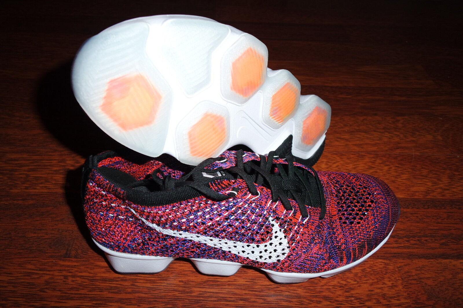 femmes Nike Flyknit Zoom Agility CRIMSON $150 698616 603 RUNNING SZ 8, 9.5 RARE