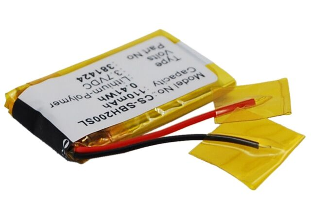 381424 Ahb441623 Replacement Battery For Sony Sbh 20 For Sale Online