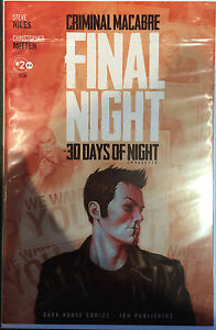 Final-Night-2-Criminal-Macabre-30-Days-Of-Night-Nm-Oscuro-Caballo-IDW-Comics