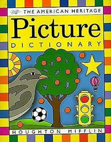 The American Heritage Picture Dictionary Hardcover Amerikanisch