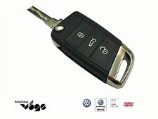 Volkswagen Original Schlüsselkappe VW Emblem Chrom Golf VII 7 Polo 5G0837599A