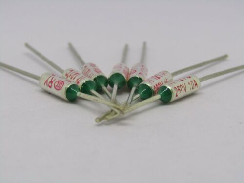RY Fuse Temperature Thermal 250V 10A 65C to 285C or 149F to 545F Axial amp 10amp