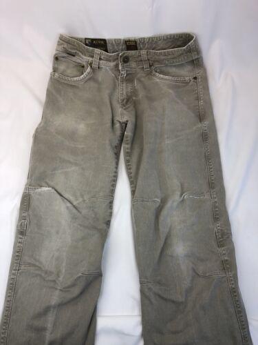 KUHL Men's CRAG Series Pants Size 32x30 Gray Khaki