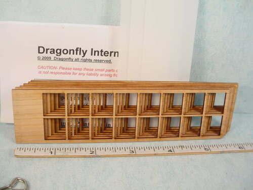 Laser Cut Dragonfly Int/'l 1//12th Miniature Shoji Screen Kit #DF106