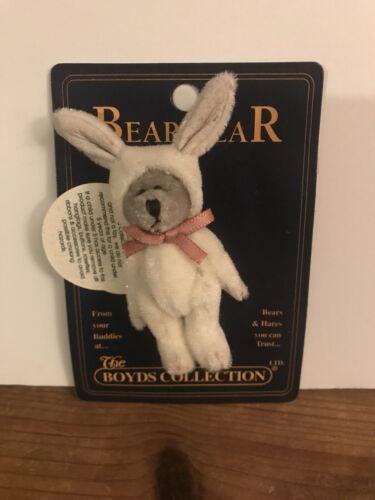 Boyds Bear Bearwear Hopley In Bunny Costume Jewerly Pin Retired Store Stock