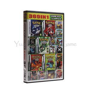 369-jeux-en-1-Nintendo-Game-Boy-Advance-GBA-in-one-anglais-megaman-mario-pokemon