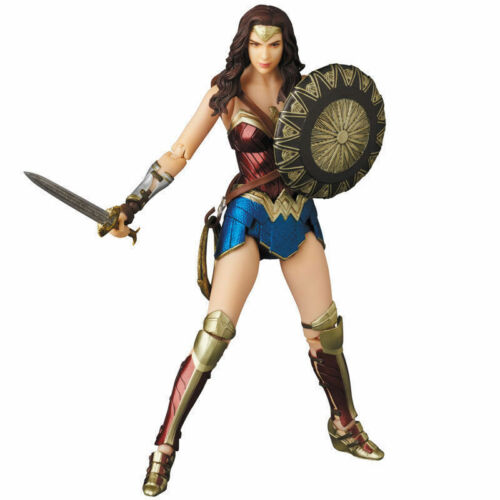 Medicom Anime Mafex No.048 Wonder Woman 16cm Action Figure Doll Toys Collection