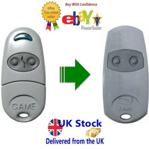 CAME TOP432NA previous model of CAME TOP432EV gate remote control,fob-UK SELLER