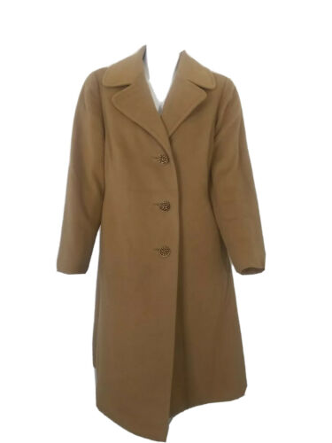 Vintage 40s Prince Fashions Womens Light Brown Cas