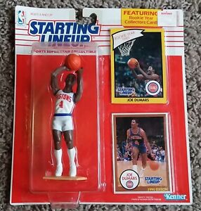 1990 Joe Dumars Kenner Starting Lineup - Original Box (Unopened)