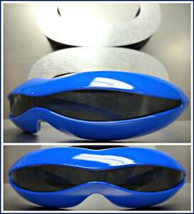 SPACE ROBOT PARTY RAVE COSTUME CYCLOPS FUTURISTIC SHIELD SUN GLASSES White Frame