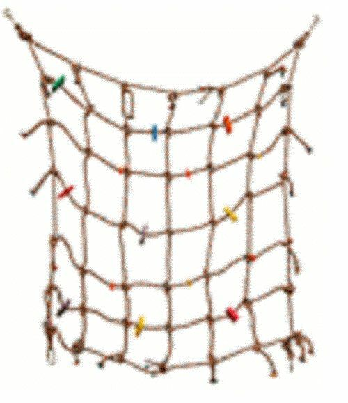 Parrot Perch Pet Bird Cage Climbing Play Gym Net Play Toy Activity