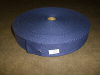Military Surplus Fabric Strap (1.25 Inch By 20 Feet) - Navy Blue