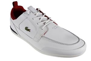 Classic Boat Leather White Sneakers