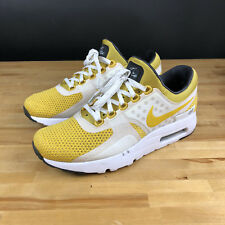 Nike Air Max Zero QS US Size 8.5 Tinker Hatfield White Sulfur Yellow 789695 100