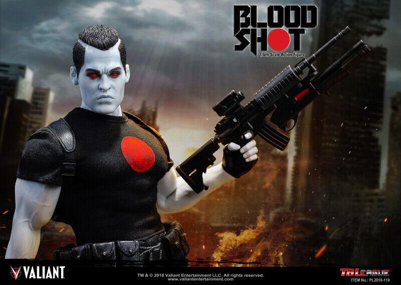 TBLeague Phicen 1 6 Bloodshot Action Figure by Valiant Comics  PL2018-119