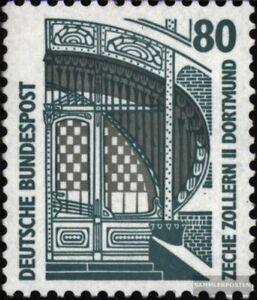BRD-1342A-R-II-mit-Zaehlnummer-postfrisch-1987-Sehenswuerdigkeiten