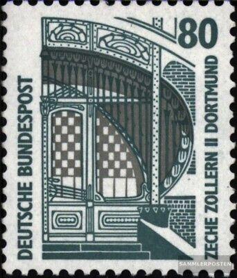 Brd 1342a R Ii Mit Zählnummer Postfrisch 1987 Sehenswürdigkeiten Einfach Zu Verwenden