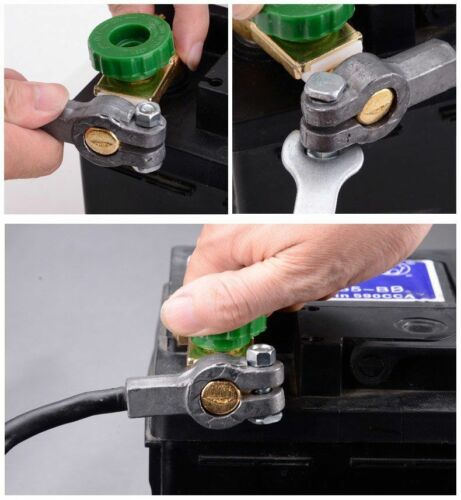 Car Auto Battery Link Terminal Quick Cut-off Disconnect Master Kill Shut Switch