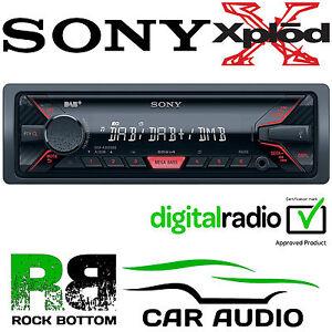 Sony-DSX-A300DAB-Car-Stereo-MP3-DAB-DAB-Digital-Radio-USB-iPod-iPhone-Player
