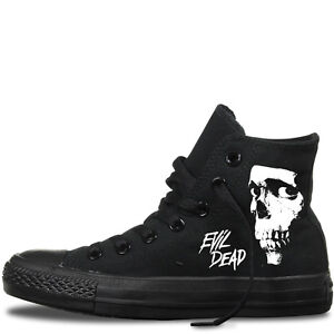 56b80881564a58 evil dead custom converse chuck taylor all star men s women s horror ...