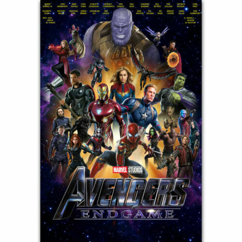 P222 Avengers Endgame Marvel 2019 Superhero Hot Movie Fabric Poster 24x36 32x48
