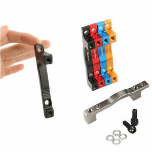 Universal-Scheiben-Bremssattel-Adapter-Pfosten-PM-180-203mm-8-034-Rotor-Schwarz-Rot