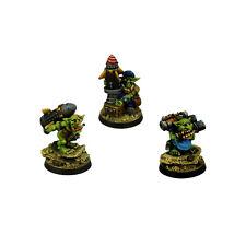 Ork War2 Orc Goblin Ammo Dealers Assistenten Kromlech Resin KRM068