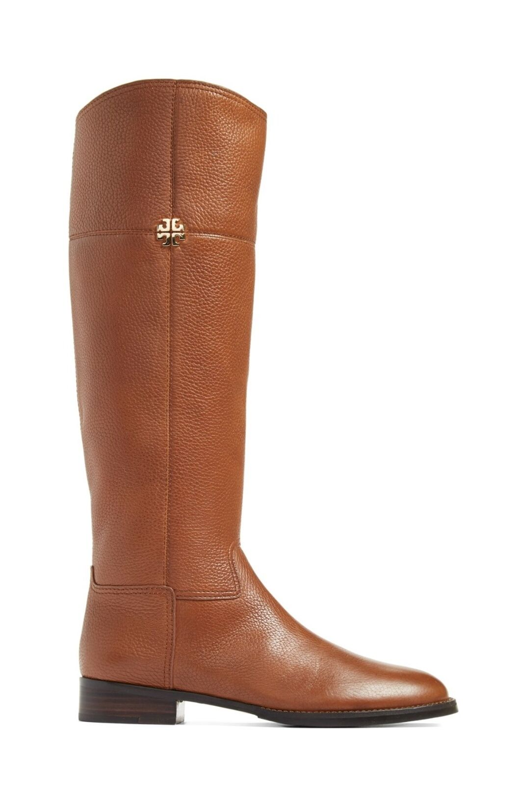 Tory Burch Women's Leather Leather Leather Jolie Riding Boots Rustic Brown 6380 Size 10 M fb08fc