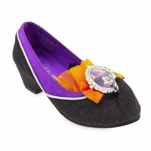 Disney Store Minnie Mouse Witch Fancy Dress Shoes Kids UK 7-8 9-10