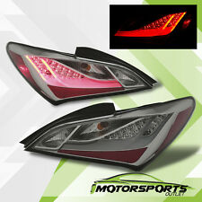 For 2010 2011 2012 2013 2014 2015 Hyundai Genesis Coupe Smoke LED Tail Lights