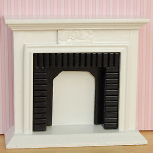 Cool-Miniature-Furniture-Well-Made-Fireplace-for-1-12-Scale-Dollhouse-Toys-amp-New