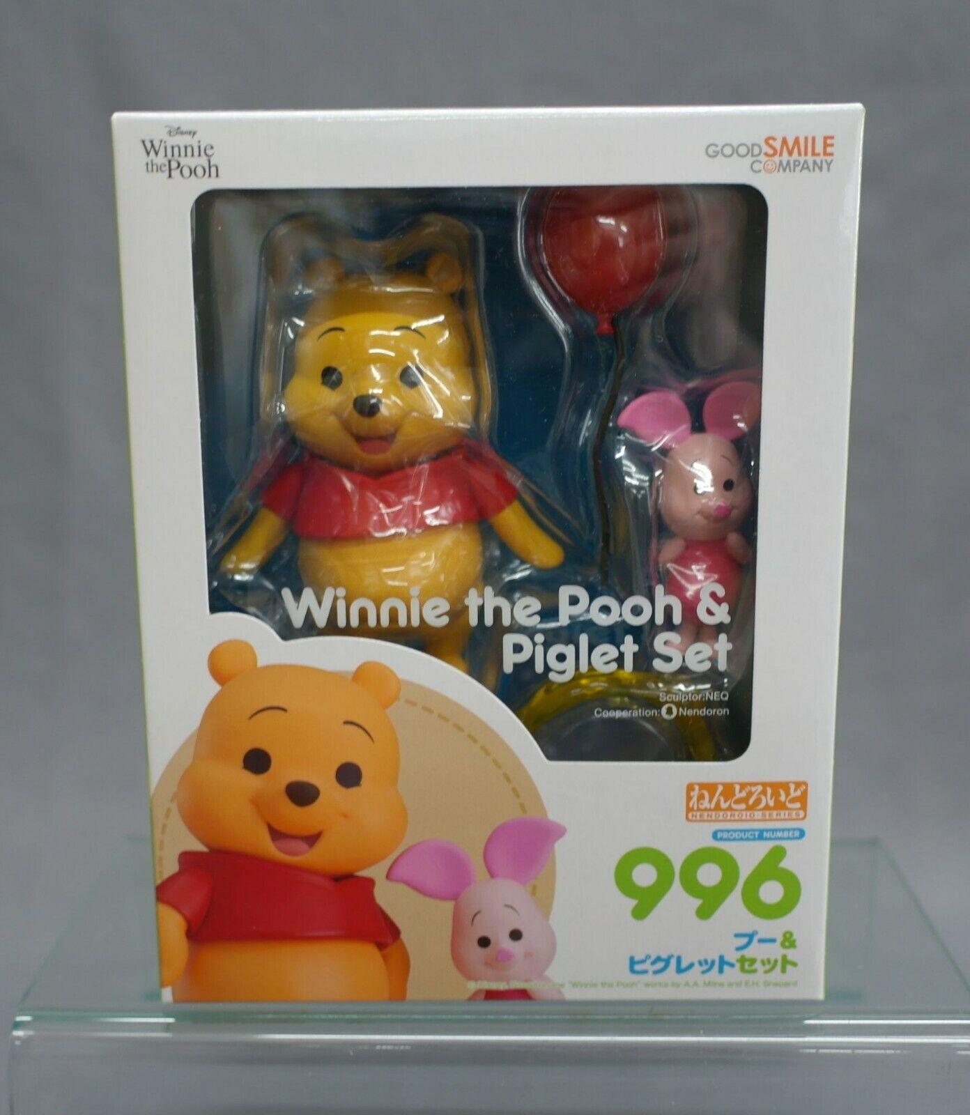 Nendoroid Winnie the Pooh Pooh Piglet Set Good Smile Company JAPAN NEW