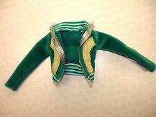 Genuine My Scene Doll Clothing - Day N Nite Nolee Doll's Green Velour Jacket