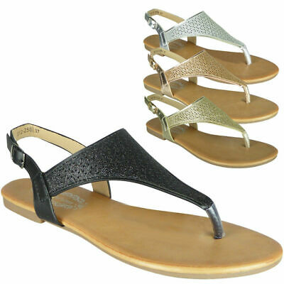 Ladies Slingback Sandals Womens Toe