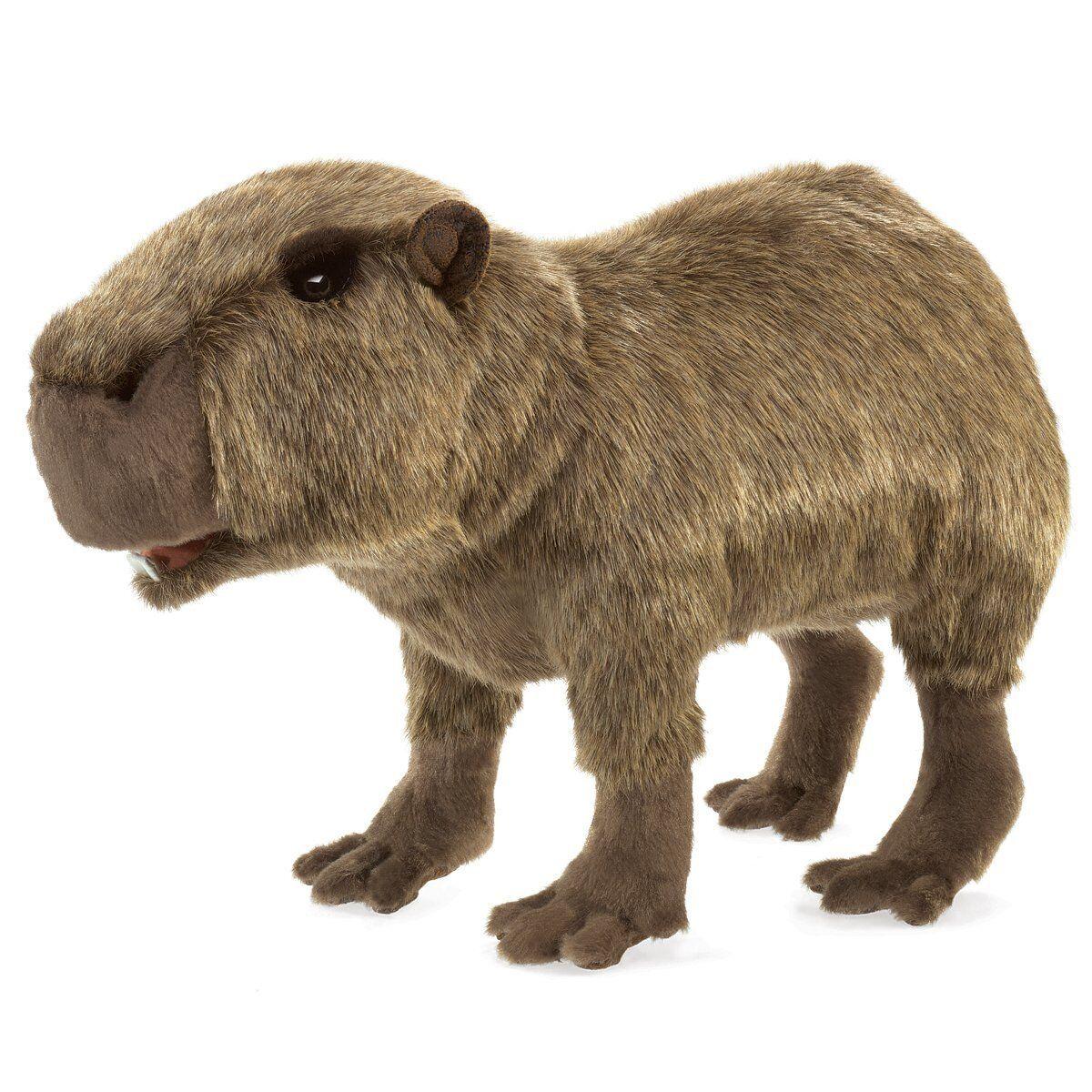 Folkmanis Puppets Play Pretend Fun Animal Puppets (Capybara)