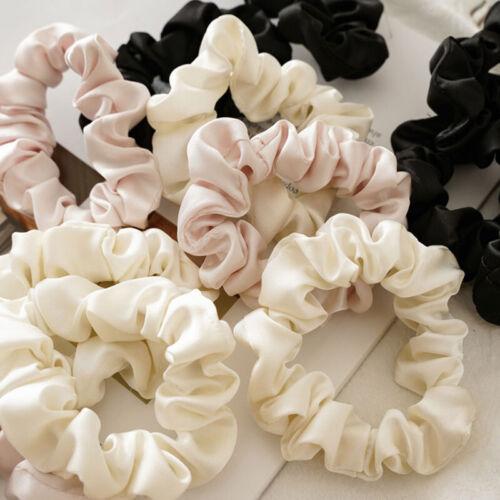 5PCS Hair Scrunchies Set Hair Ties Hair Accessory Faux Silk Hair Rings Hair Band